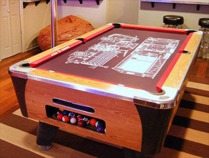 Custom Game Room Products Down To The Felt Custom Game Rooms